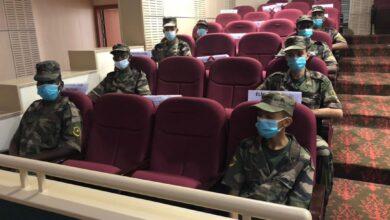 صورة الثانوية العسكرية تشارك في معرض صور للنساء الناشطات في مهن الدفاع والأمن والعدالة